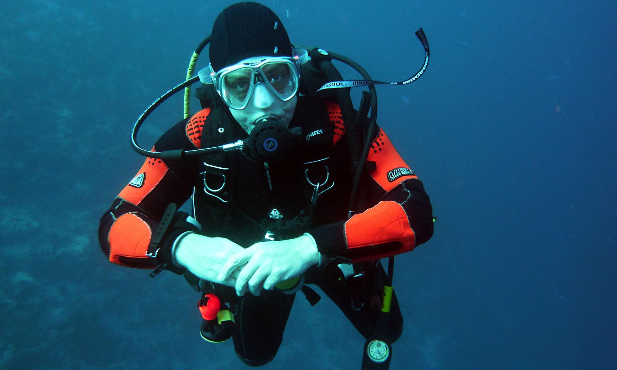BSAC Seahorse Divers drysuit diving